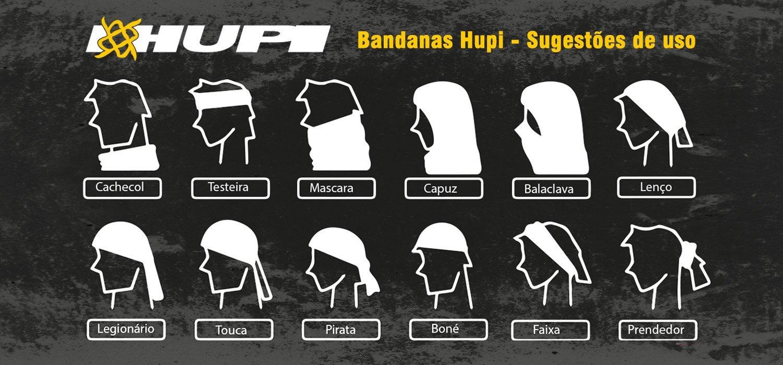 Bandana HUPI - Rain