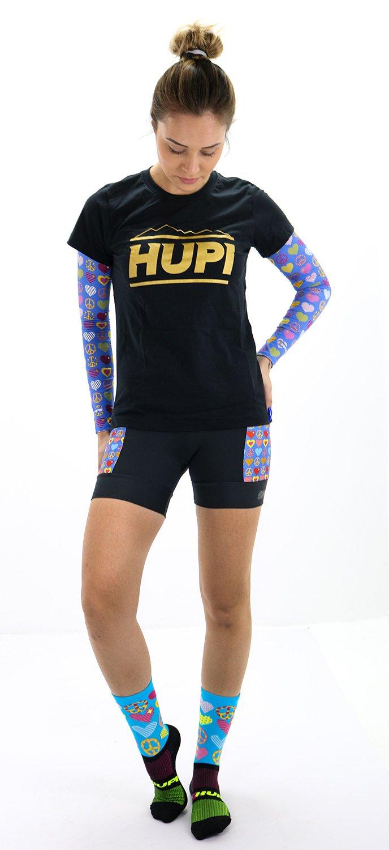 Bermuda de Compressão para Corrida HUPI Run Hippie Feminina Curta
