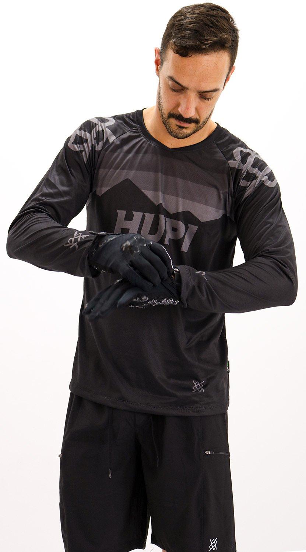 Camisa Manga Longa HUPI Shadow All Black Preto