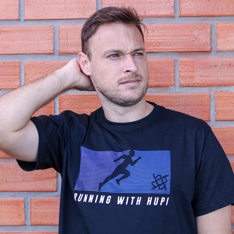 Camiseta HUPI Running With