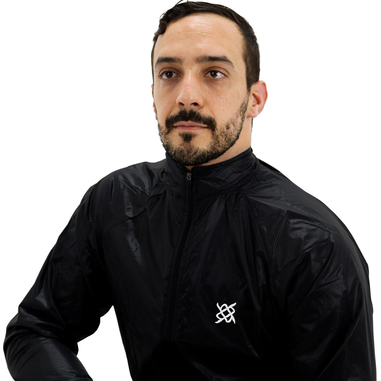 Jaqueta Corta Vento HUPI All Black