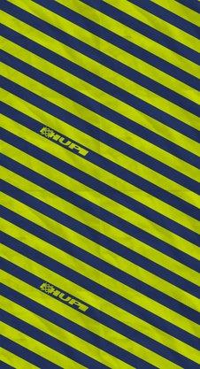 Bandana HUPI - Azul/Amarelo