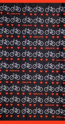 Bandana HUPI - Love Bikes Preto