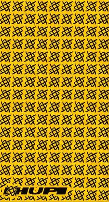 Bandana HUPI - Simbol Amarelo
