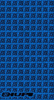 Bandana HUPI - Simbol Azul