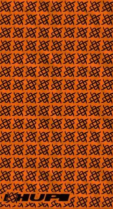 Bandana HUPI - Simbol Laranja
