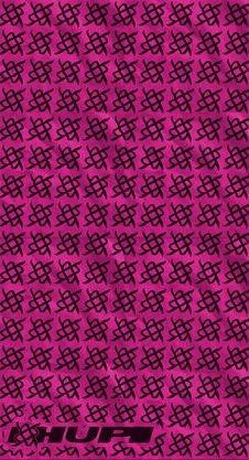 Bandana HUPI - Simbol Pink