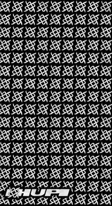 Bandana HUPI - Simbol Preto