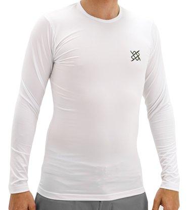 Camisa Segunda Pele HUPI Manga Longa Branco