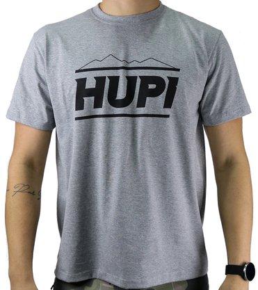 Camiseta Casual HUPI Mountains Mescla Claro