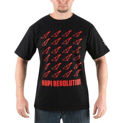 Camiseta Casual HUPI Revolution Vermelho