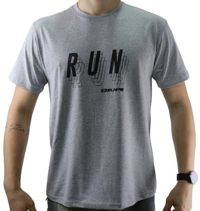 Camiseta Casual HUPI Run Mescla