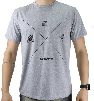 Camiseta Casual HUPI Triathlon Mescla
