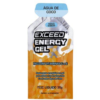 Exceed Energy Gel Sabor Água de Coco 30g