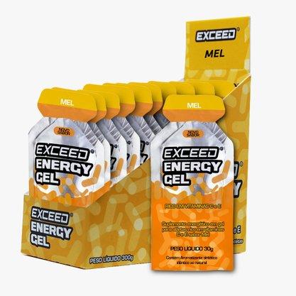 Exceed Energy Gel Sabor Mel - Caixa C/ 10