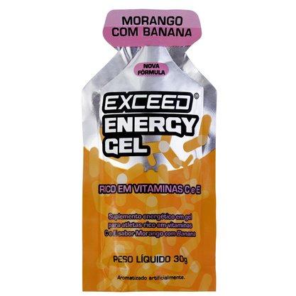 Exceed Energy Gel Sabor Morango com Banana 30g