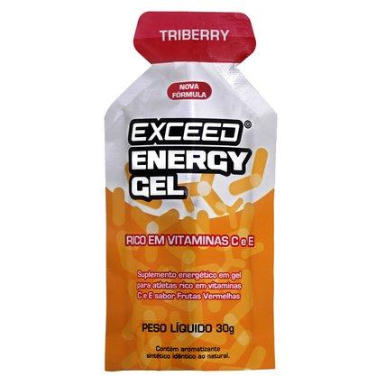 Exceed Energy Gel Sabor Triberry 30g