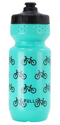 Garrafa Pullo Bike Verde Agua 600ml