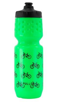 Garrafa Pullo Bike Verde Neon 750ml