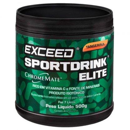 Isotônico Exceed Sportdrink Elite Tangerina - Pote 500g