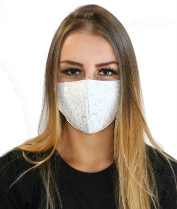 Máscara de Proteção HUPI Splash Branco/Cinza