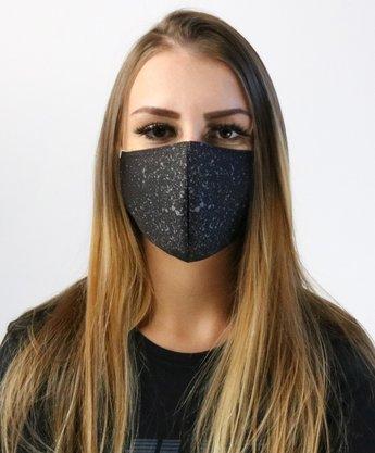 Máscara de Proteção HUPI Splash Preto/Cinza