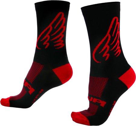 Meia Asas Vermelha HUPI - LT para pés menores 34-38