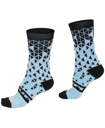 Meia Hupi Tetris Light Blue