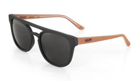 Oculos Hupi Bondi Preto/coral - Lente Preto