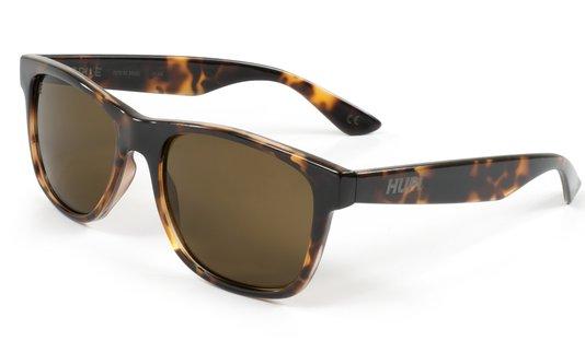 Óculos de Sol HUPI Brile Armação Tartaruga Lente Marrom