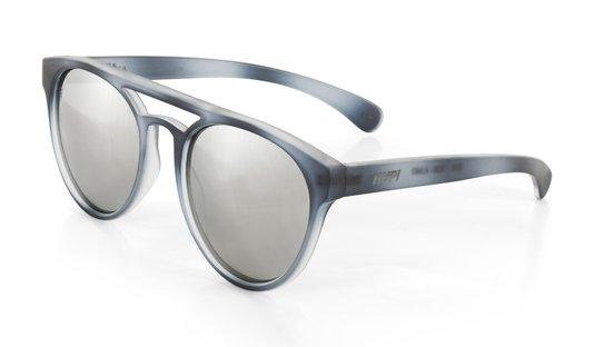Óculos de Sol HUPI Furka Cinza Cristal - Lente Prata Espelhado