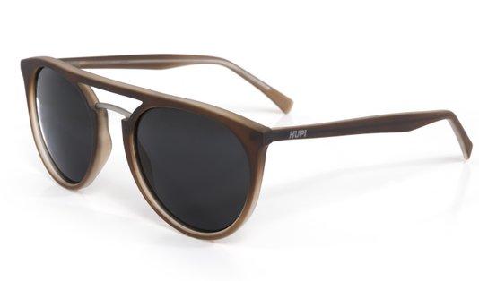 Óculos de Sol HUPI Ibiza Marrom Fosco– Lente Preta
