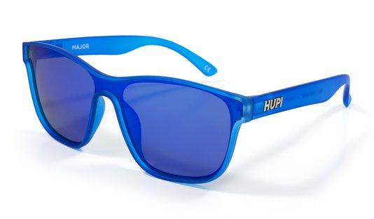 Óculos de Sol HUPI Major Azul - Lente Azul Espelhado
