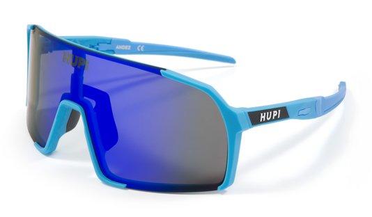 Óculos de Sol HUPI Andez Azul - Lente Azul Espelhado