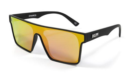 Óculos HUPI Charco Preto - Lente Rosa Espelhado