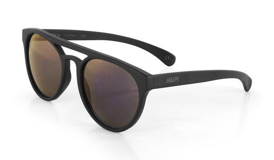 Oculos HUPI Furka Preto - Lente Roxo Espelhado
