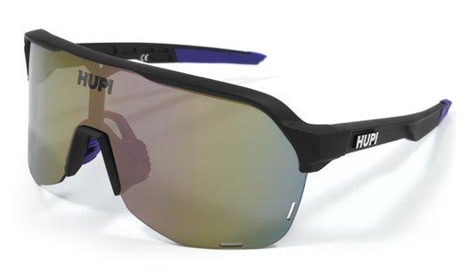 Oculos Hupi Huez Preto/Roxo - Lente Roxo Espelhado
