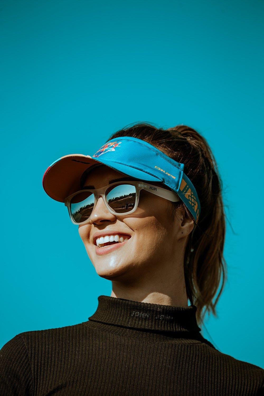 Óculos de Sol HUPI Brile Cristal Lente Prata