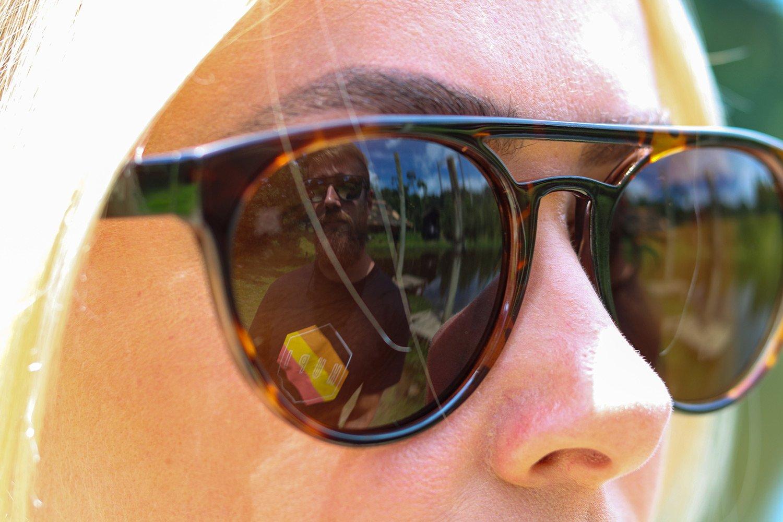Óculos de Sol HUPI Furka Tartaruga– Lente Marrom