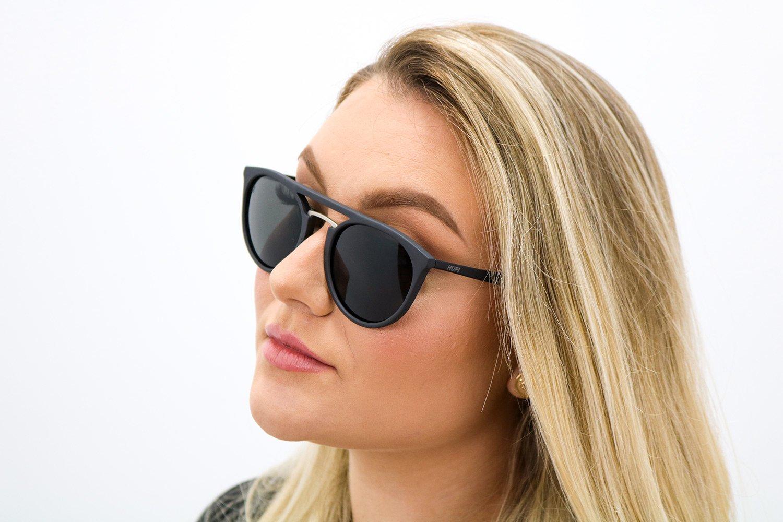 Óculos de Sol HUPI Ibiza Fosco - Lente Preta