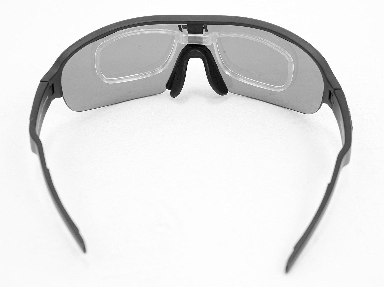 Óculos HUPI Pacer Preto - Clip Para Lentes De Grau