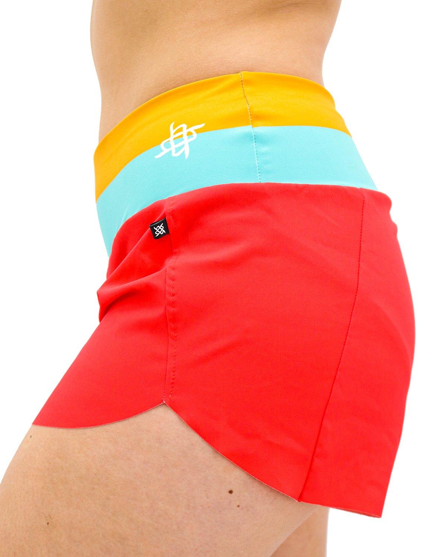 Shorts Hupi Annie Verde/tangerine
