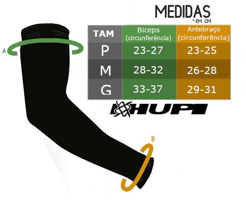 Manguito HUPI Guache Proteção UV50+