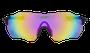 Oculos HUPI Fuego Preto - Lente Rosa Espelhado